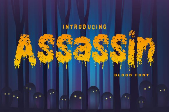 Print on Demand: Assassin Decorative Font By Vunira