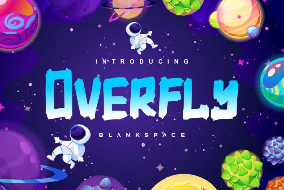 Print on Demand: Overfly Script & Handwritten Font By Vunira