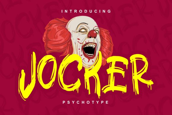 Print on Demand: Jocker Decorative Font By Vunira