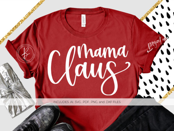 Print on Demand: Mama Claus Graphic Crafts By BeckMcCormick