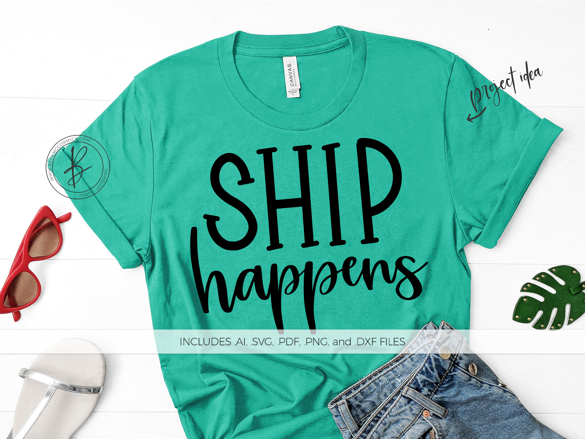 Download Free Ship Happens Graphic By Beckmccormick Creative Fabrica SVG Cut Files