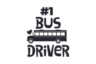 #1 Bus Driver Craft Design By Creative Fabrica Crafts