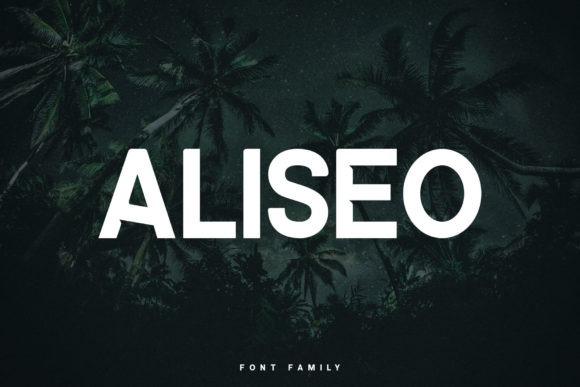 Print on Demand: Aliseo Sans Serif Font By RC graphics - Image 1
