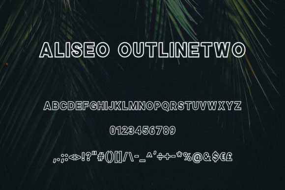 Aliseo Font By RC graphics Image 5