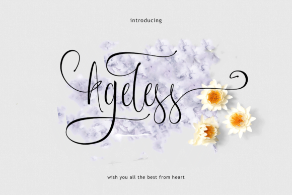 Print on Demand: Ageless Script & Handwritten Font By Rt Creative