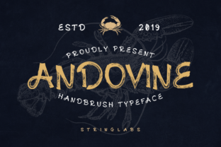Andovine Font By StringLabs