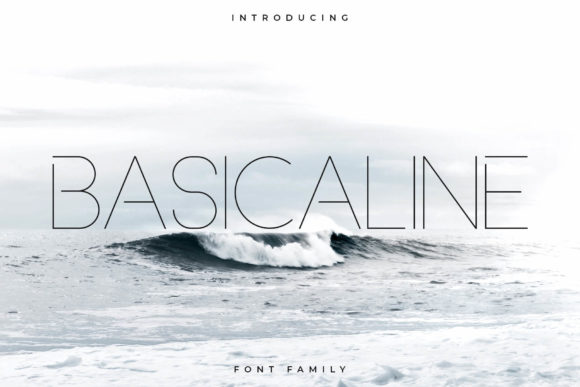 Print on Demand: Basicaline Sans Serif Font By RC graphics