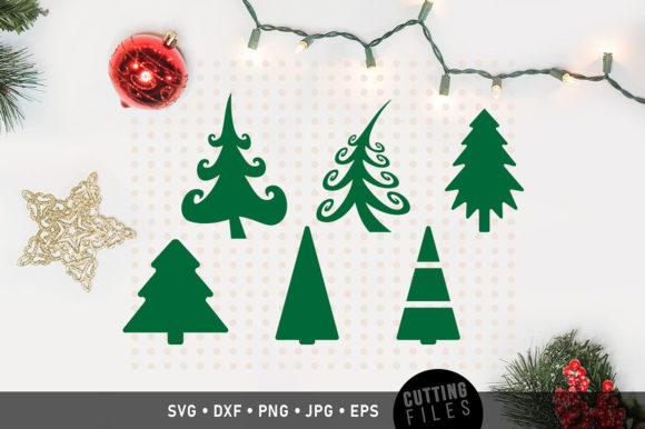 Christmas Tree Graphic Crafts By danieladoychinovashop - Image 1