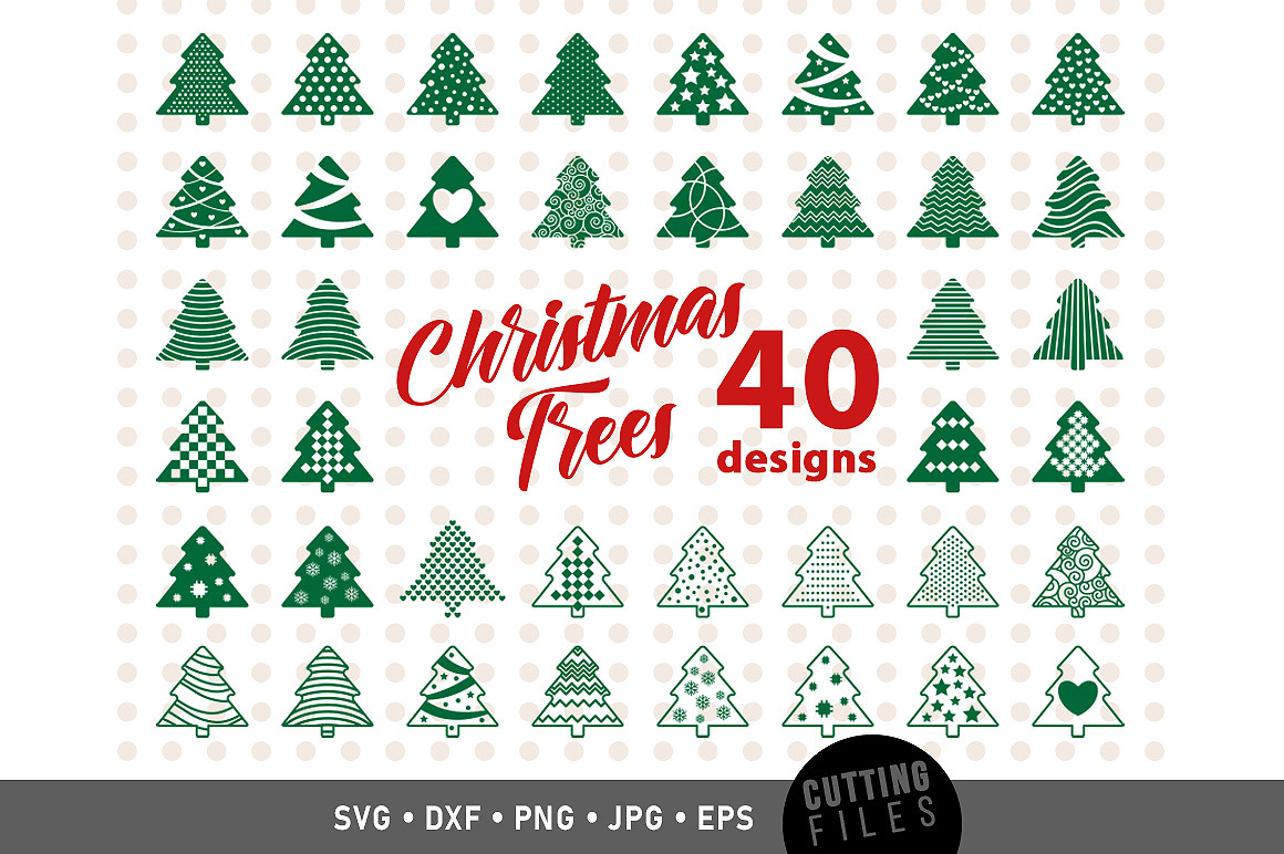 Download Free Christmas Tree Graphic By Danieladoychinovashop Creative Fabrica for Cricut Explore, Silhouette and other cutting machines.