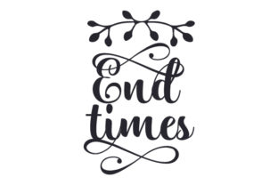 End Times Craft Design By Creative Fabrica Crafts