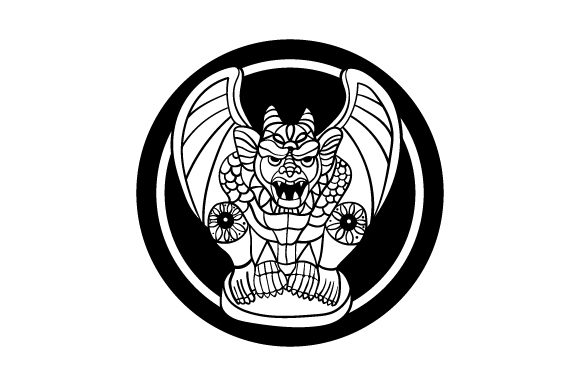 Download Free Gargoyle Mandala Style Svg Cut File By Creative Fabrica Crafts for Cricut Explore, Silhouette and other cutting machines.