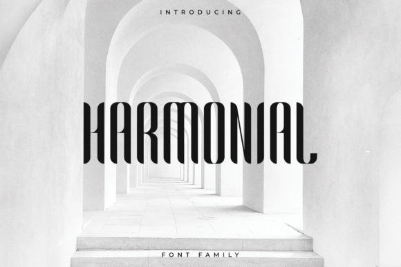 Harmonial Font By RC graphics Image 1