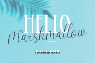 Print on Demand: Hello Marsmallow Duo Script & Handwritten Font By Dani (7NTypes)