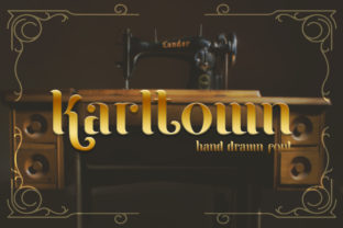 Karltown Font By StringLabs