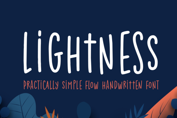 Print on Demand: Lightness Script & Handwritten Font By Situjuh