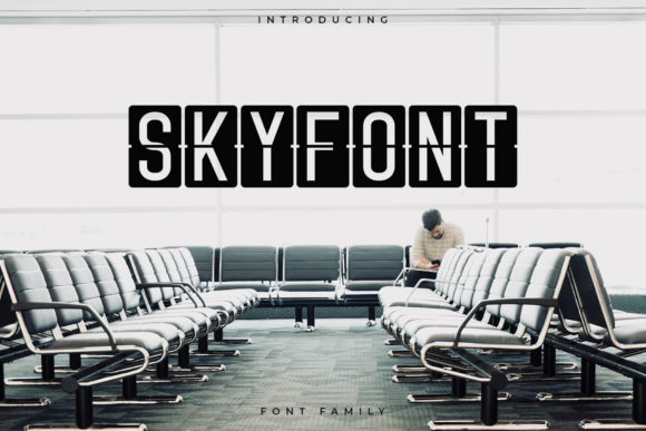 Skyfont Font By RC graphics Image 1