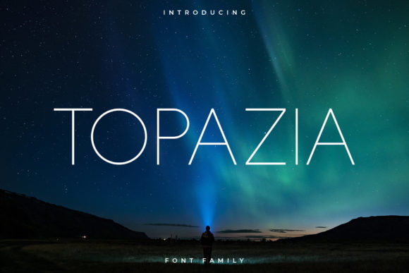 Print on Demand: Topazia Sans Serif Font By RC graphics - Image 1