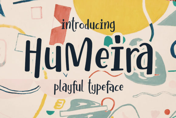 Print on Demand: Humeira Script & Handwritten Font By Arterfak Project