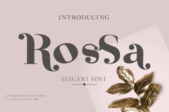 Rossa Font By ed.creative Image 1
