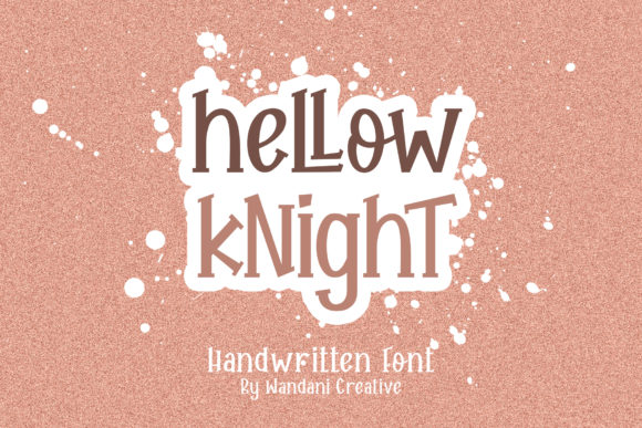 Print on Demand: Hellow Knight Display Font By Wandani Creative
