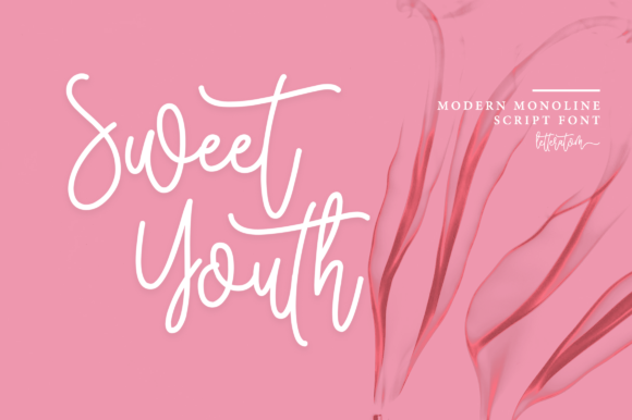 Print on Demand: Sweet Youth Script & Handwritten Font By Letteratom