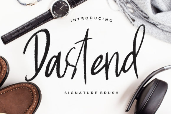 Print on Demand: Dastend Script & Handwritten Font By CreatypeStudio