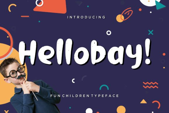 Print on Demand: Hellobay Display Font By CreatypeStudio