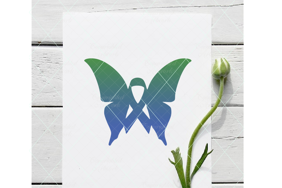 Download Free Butterfly Ribbon Graphic By Thelovebyrds Creative Fabrica for Cricut Explore, Silhouette and other cutting machines.
