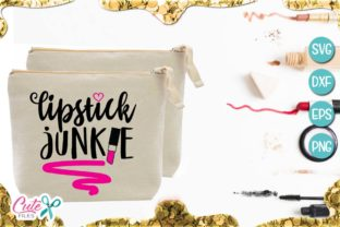 Lipstick Junkie Graphic By Cute files