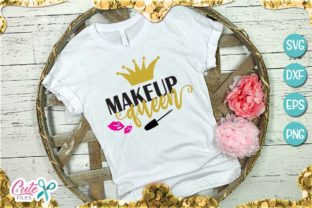 Makeup Queen Graphic By Cute files