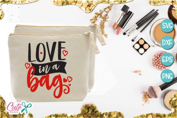 Love in a Bag Graphic Illustrations By Cute files