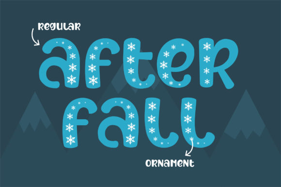 Print on Demand: After Fall Display Font By Subectype - Image 3