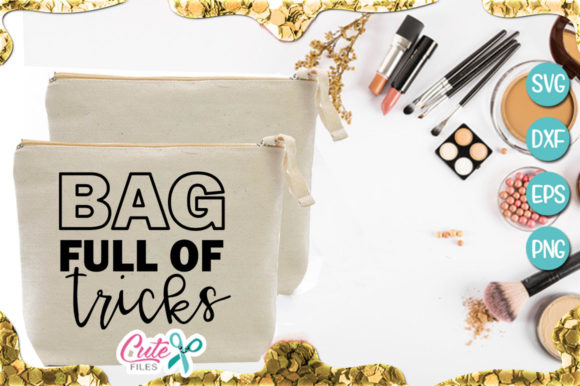 Bag Full of Tricks Graphic Illustrations By Cute files
