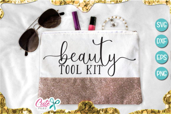Beauty Tool Kit Graphic Illustrations By Cute files