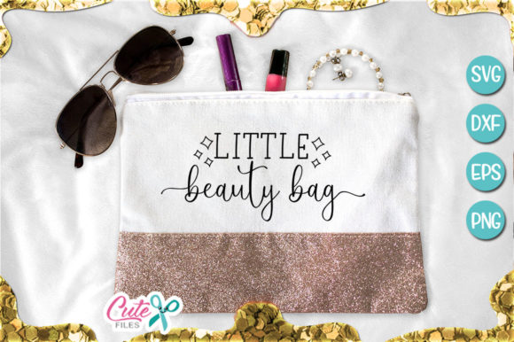 Little Beauty Bag Graphic Illustrations By Cute files - Image 1