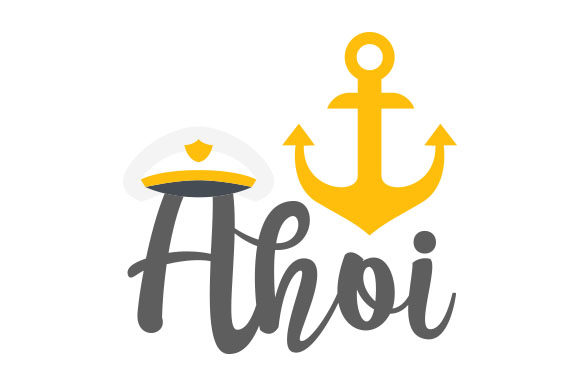 Ahoi Germany Craft Cut File By Creative Fabrica Crafts - Image 1