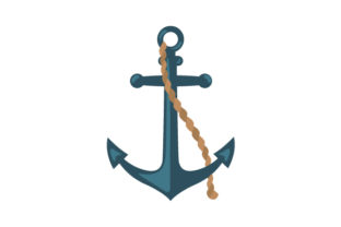 Anchor (in Color) Craft Design By Creative Fabrica Crafts