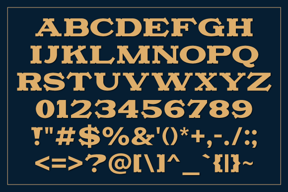 Camonflet Font By TanveerType Image 2