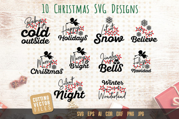 Download Free Christmas Quotes Graphic By Danieladoychinovashop Creative Fabrica for Cricut Explore, Silhouette and other cutting machines.