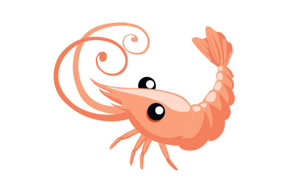 Download Free Cute Shrimp Svg Cut File By Creative Fabrica Crafts Creative for Cricut Explore, Silhouette and other cutting machines.