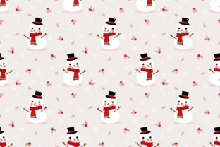 Cute Snowman in Christmas Season Graphic By thanaporn.pinp