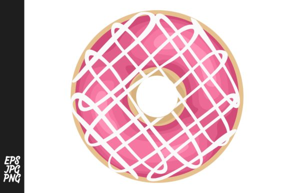 Print on Demand: Donuts Vector Graphic Crafts By Arief Sapta Adjie