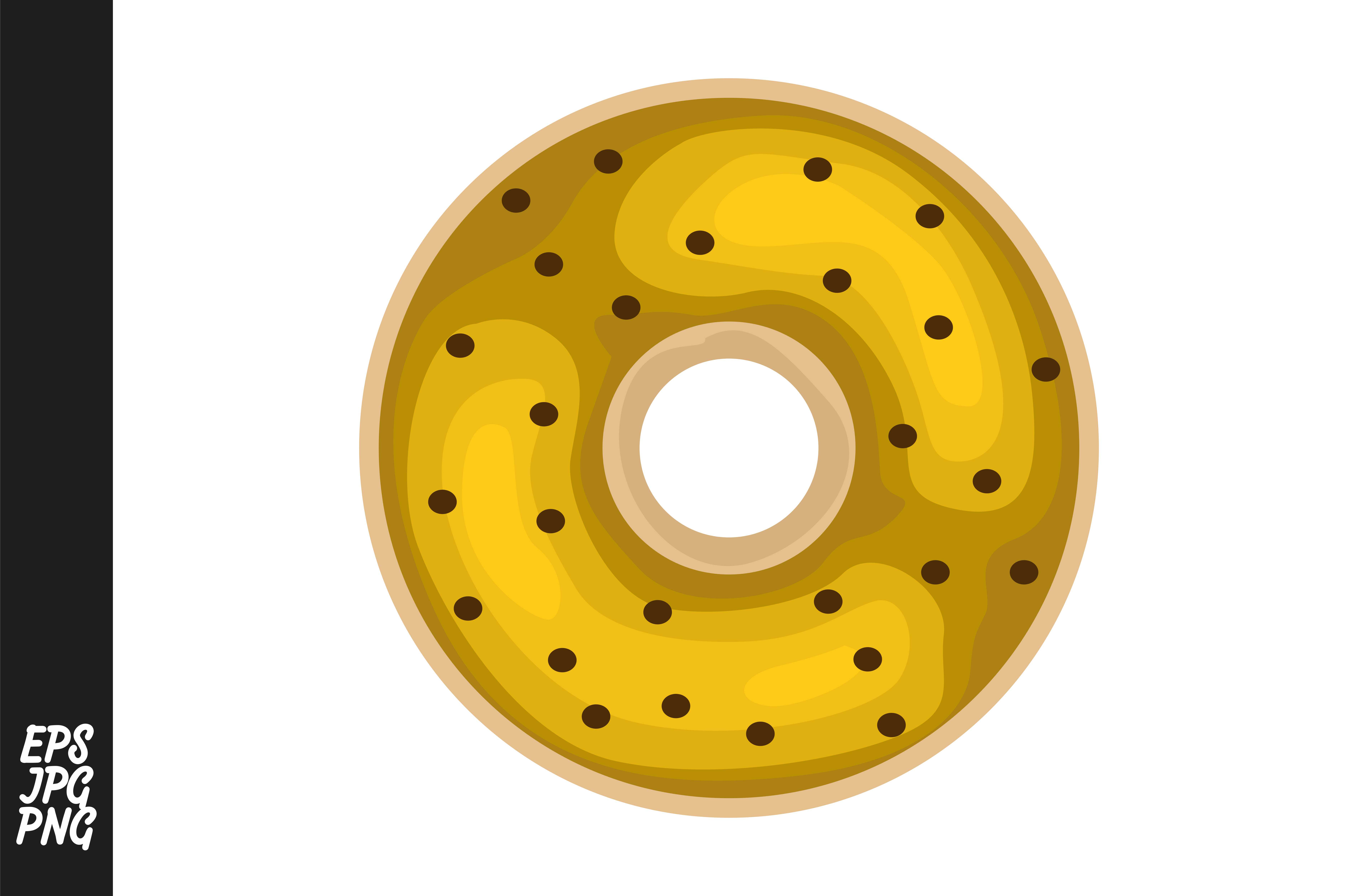 Download Free Donuts Vector Graphic By Arief Sapta Adjie Creative Fabrica for Cricut Explore, Silhouette and other cutting machines.