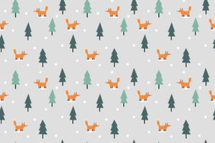 Fox in Christmas Snow Graphic By thanaporn.pinp