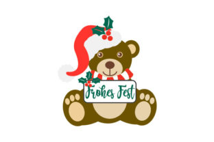 Frohes Fest Craft Design By Creative Fabrica Crafts