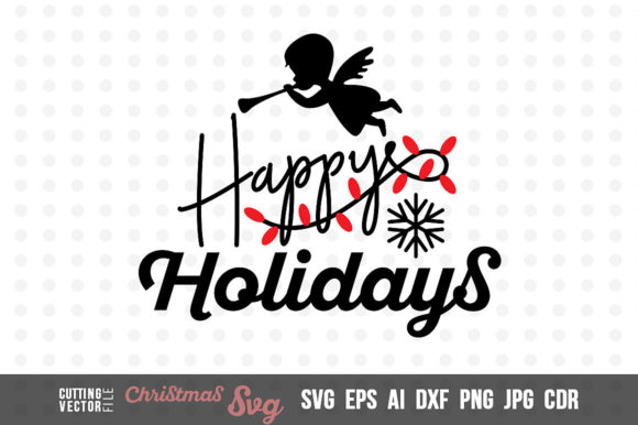 Happy Holidays Graphic Crafts By danieladoychinovashop - Image 1