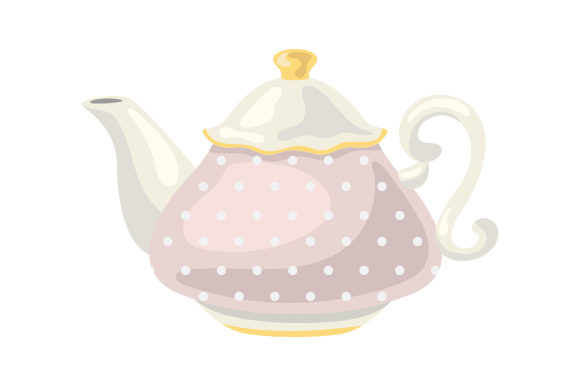 Download Free Vintage Tea Pot Svg Cut File By Creative Fabrica Crafts Creative Fabrica for Cricut Explore, Silhouette and other cutting machines.