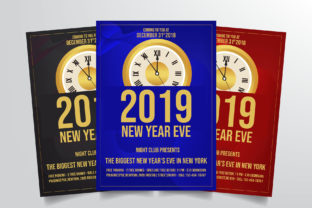 New Years Eve Flyer Template Graphic By StringLabs