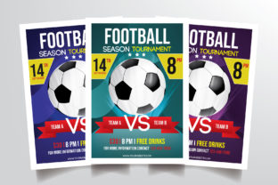 Football Tournament Flyer Template Graphic By StringLabs