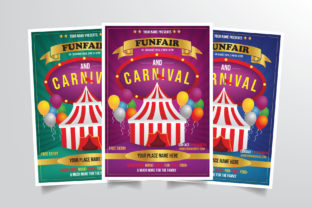 Carnival Flyer Template Graphic By StringLabs
